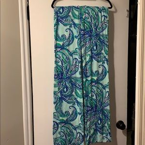 Lilly Pulitzer Paisley Georgia May Palazzo Pants